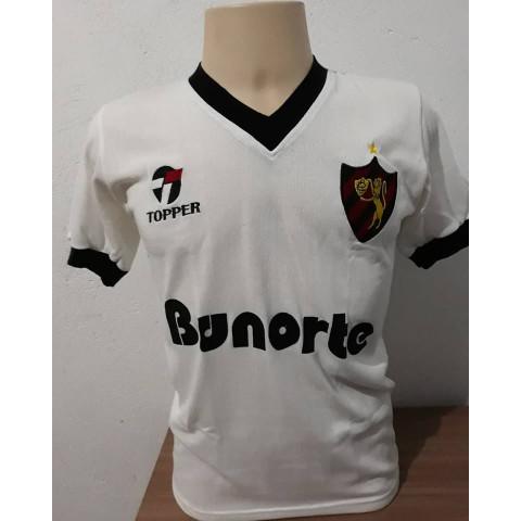 Camisa Retrô Sport Recife Banorte - Confecção em até 18 dias úteis.