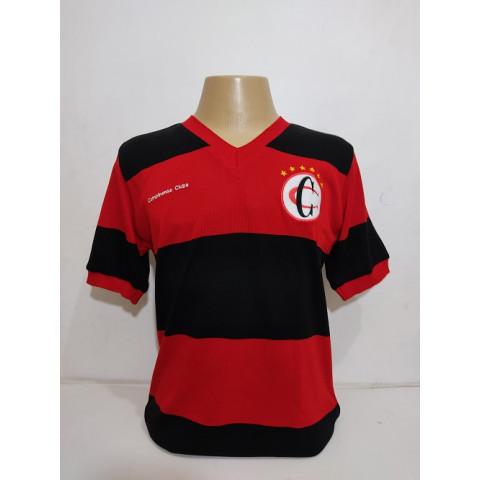 Camisa Retrô do Campinense Clube PB - Confecção em até 18 dias úteis.