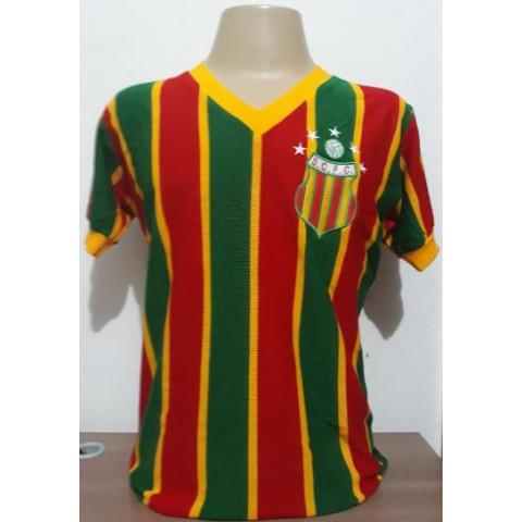 Camisa Retrô do Sampaio Corrêa listrada - Confecção em até 18 dias úteis.