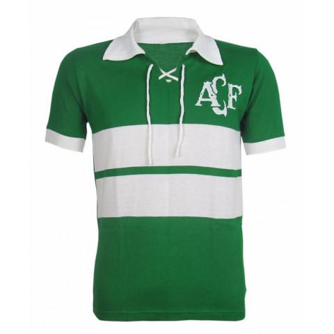 Camisa Retrô da Chapecoense - Confecção em até 18 dias úteis.