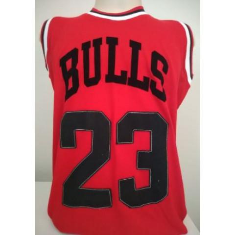 Camisa Retrô de Basquete Chicago Bulls - Confecção em até 18 dias úteis.