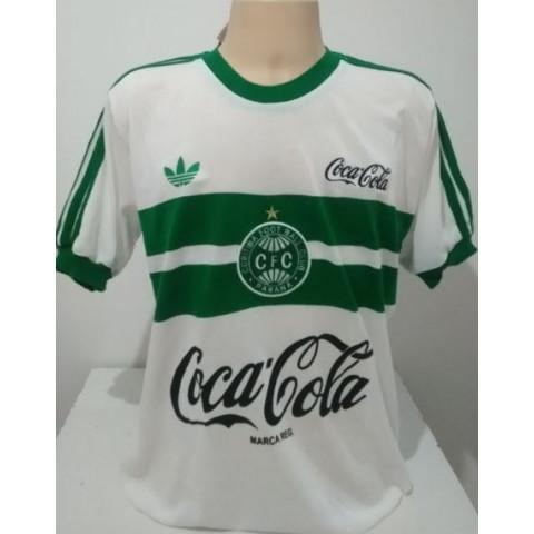 Camisa Retrô do Coritiba Coca cola - Confecção em até 18 dias úteis.