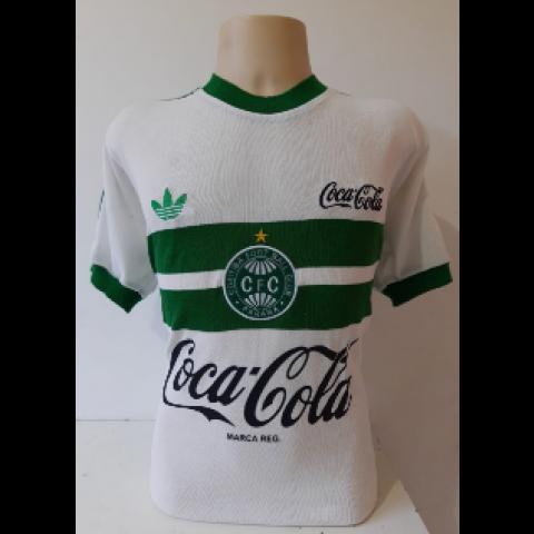 Camisa Retrô do Coritiba 1988 Coca cola - Confecção em até 18 dias úteis.
