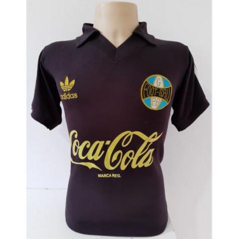Camisa Retrô do Grêmio Comemorativa escudo 1922 - Confecção em até 18 dias úteis.