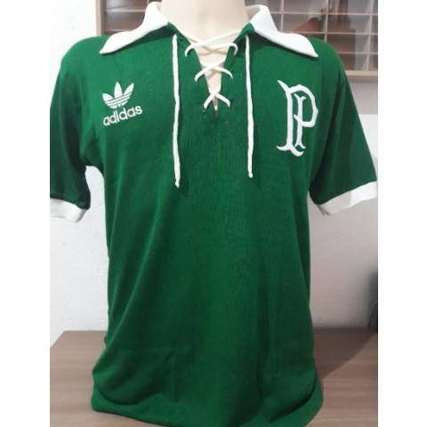Camisa Retrô do Palmeiras Cordinha - Confecção em até 18 dias úteis.