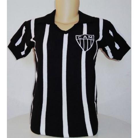 Camisa retrô do Atlético Mineiro 1937 Feminina (Baby Look) - Confecção em até 18 dias