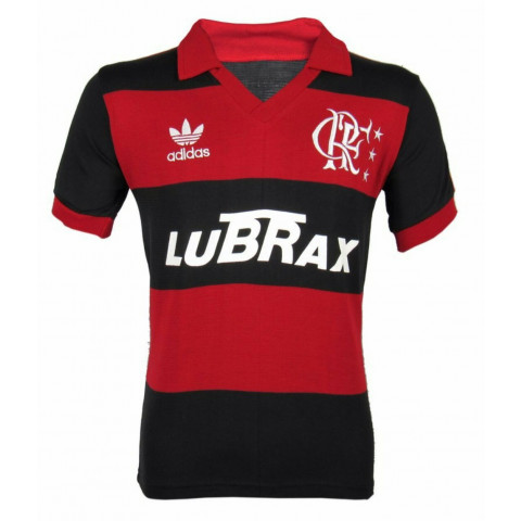 Flamengo 1988 Lubrax - Confecção em até 18 dias úteis.