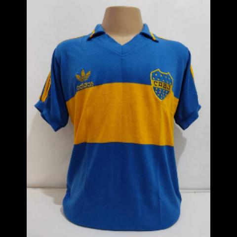 Camisa retrô do Boca Juniors 1987 - confecção em até 18 dias uteis