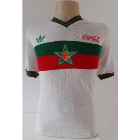 Camisa Retrô da Portuguesa RJ Coca cola - Confecção em até 18 dias úteis.