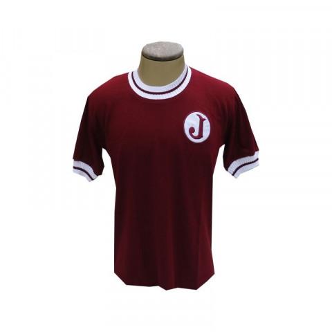 Camisa retrô da Juventus da Mooca Gola Redonda - Confecção em até 18 dias