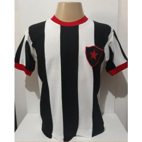 Camisa Retrô do Botafogo PB 1977 gola redonda - Confecção em até 18 dias úteis.