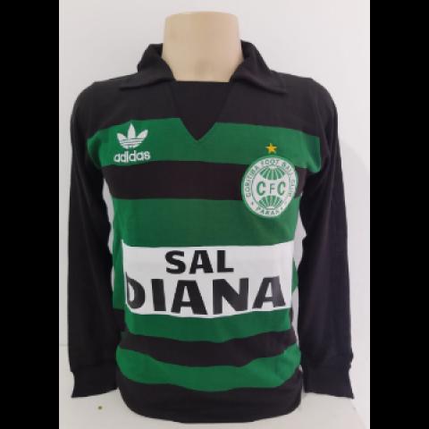 Camisa Retrô do Coritiba Goleiro Rafael Cammarotta Libertadores 1986 - Confecção em até 18 dias úteis.