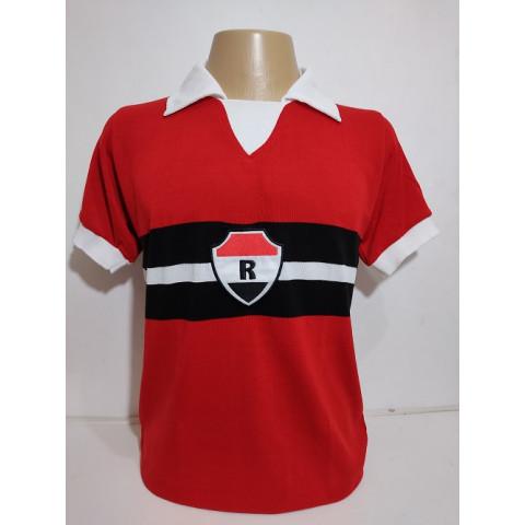 Camisa retrô do River Atlético Clube 1987 Vermelha - Confecção em até 18 dias utéis