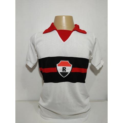 Camisa retrô do River Atlético Clube 1987 Branca - Confecção em até 18 dias utéis