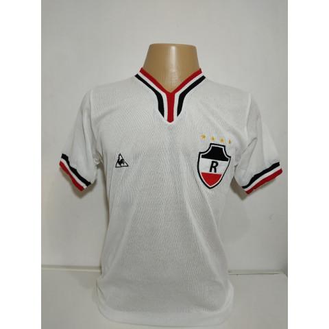 Camisa retrô do River Atlético Clube Modelo Torcedor - Confecção em até 18 dias utéis