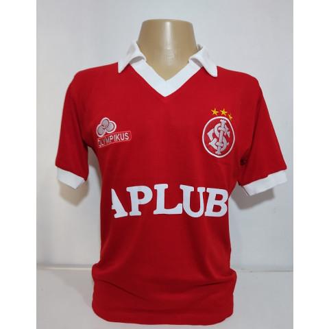 Camisa Retrô do Internacional Olympikus e Aplub - Confecção em até 18 dias úteis.