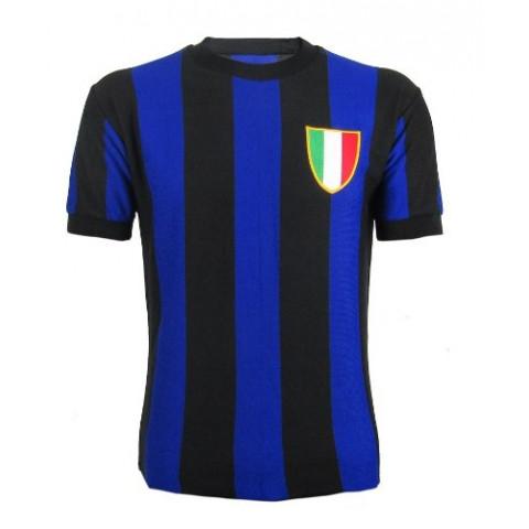 Camisa Retrô da Inter de Milão - Confecção em até 18 dias úteis.