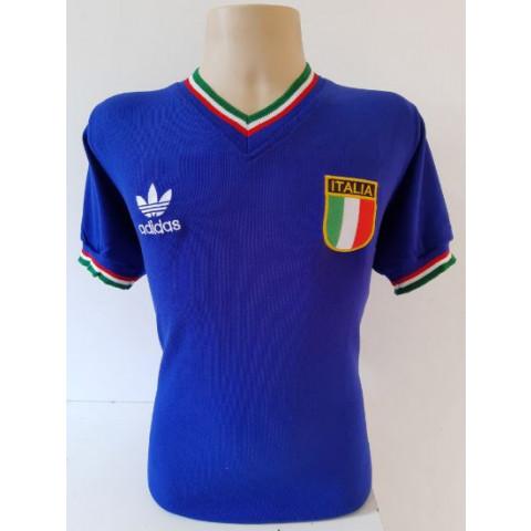 Camisa Retrô da Seleção da Itália 1982 - Confecção em até 18 dias úteis.