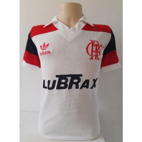 Flamengo Lubrax Branca - Confecção em até 18 dias uteis