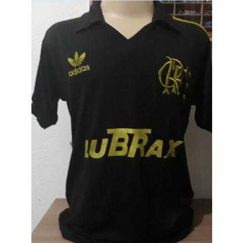 Flamengo Lubrax Dourado - Confecção em até 18 dias úteis.