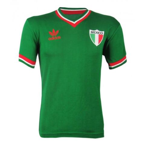 Camisa Retrô da Seleção do México - Confecção em até 18 dias úteis.