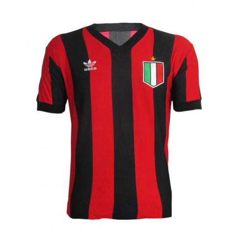 Camisa Retrô do Milan - Confecção em até 18 dias úteis.