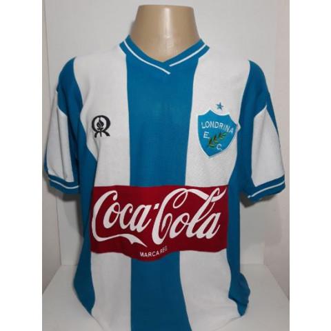 Camisa Retrô do Londrina Listrada - Confecção em até 18 dias úteis.
