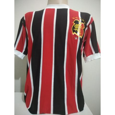 Camisa Retrô do Santa Cruz 1976 gola redonda - Confecção em até 18 dias úteis.