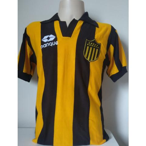 Camisa Retrô do CLUB ATLETICO PEÑAROL Nanque - Confecção em até 18 dias úteis.