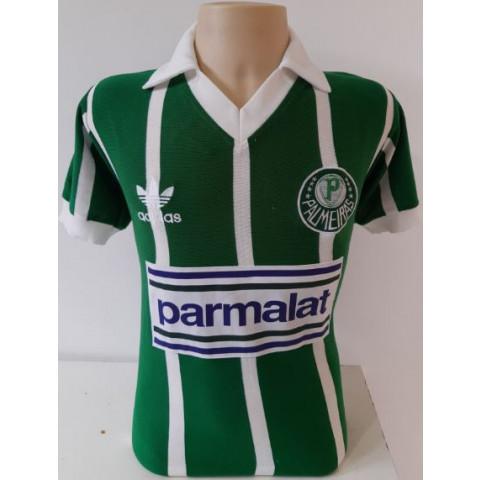 Camisa retrô do Palmeiras Parmalat - Confecção em até 18 dias