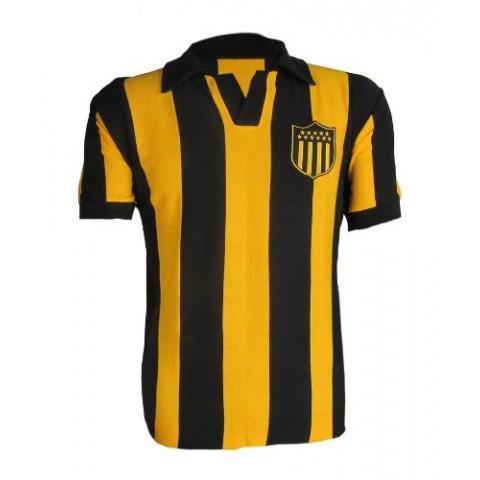 Camisa retrô do Club Atletico Peñarol 1980 - Confecção em até 18 dias uteis