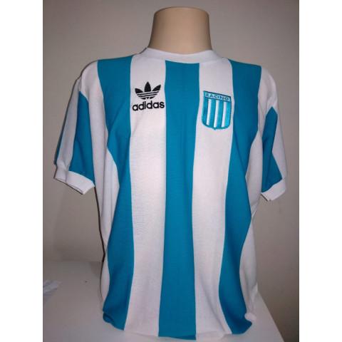 Camisa retrô do Racing Club de Avellaneda - Confecção em até 18 dias uteis