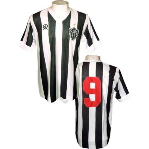 Camisa retrô do Atlético Mineiro 1980 Rainha - Confecção e entrega em até 18 dias Uteis