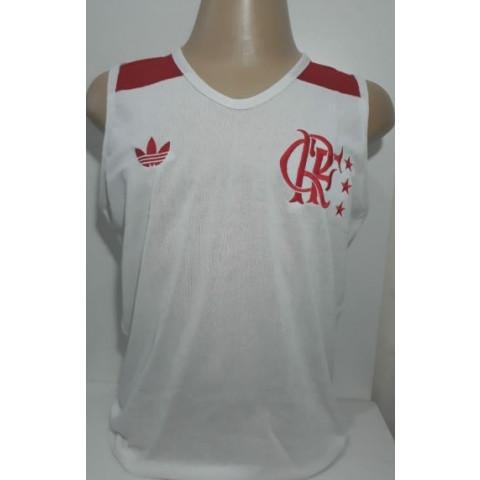 Camisa Retrô do Flamengo regata 1981 - Confecção em até 18 dias úteis.