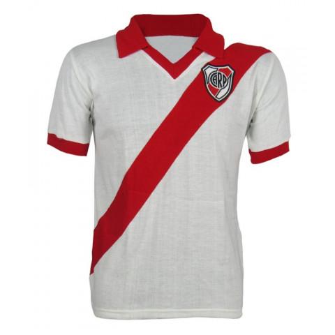 Camisa retrô do Club Atlético River Plate - Confecção em até 18 dias uteis