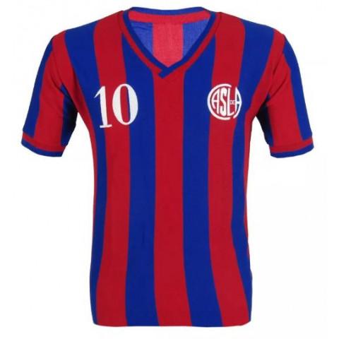 Camisa Retrô do San Lorenzo - Confecção em até 18 dias úteis.