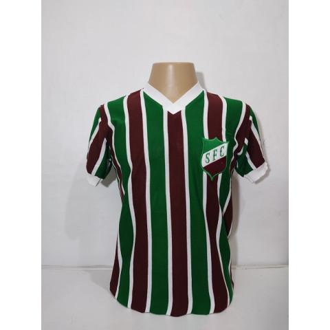 Camisa Retrô do Savoia FC - Confecção em até 18 dias úteis.