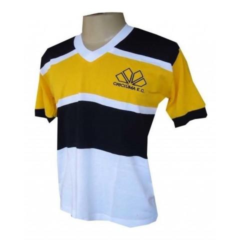 Camisa Retrô do Críciúma Tradicional - Confecção em até 18 dias úteis.