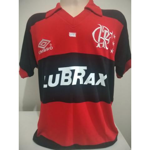 Flamengo Umbro Rubro Negro - Confecção em até 18 dias úteis.