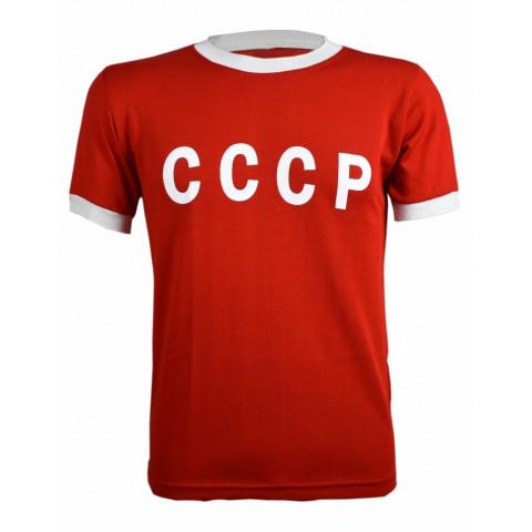 Camisa Retrô da Seleção da União Soviética vermelha - Confecção em até 18 dias úteis.