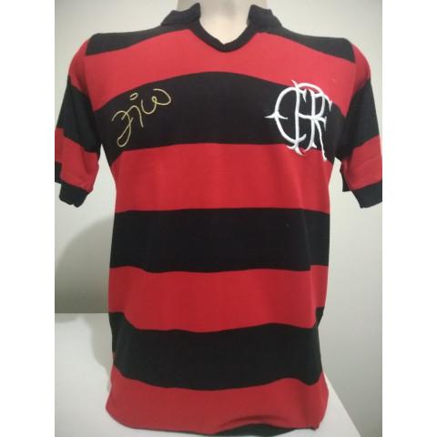 Flamengo Zico Rubro Negro - Confecção em até 18 dias úteis.