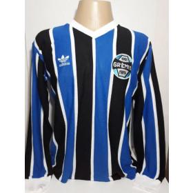 Camisa retrô do Grêmio 1983 Manga Longa - Confecção em até 18 dias