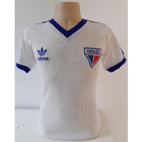 Camisa retrô do Fortaleza 1987 - 1989 Branca - Confecção em até 18 dias