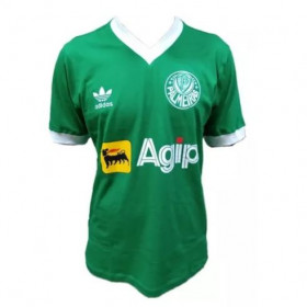 Camisa retrô do Palmeiras 1987 verde - Confecção em até 18 dias