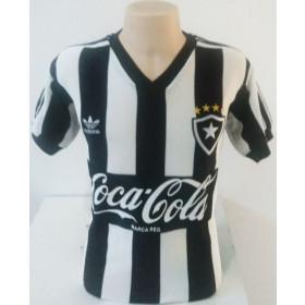 Camisa Retrô do Botafogo 1987 coca cola preta - Confecção em até 18 dias úteis.
