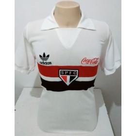 Camisa retrô do São Paulo 1988 Coca Cola - Confecção em até 18 dias