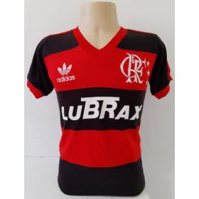 Camisa Retrô do Flamengo 1988 gola V - Confecção em até 18 dias úteis.