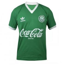 Camisa retrô do Palmeiras 1989-1990 Verde - Confecção em até 18 dias
