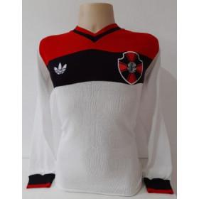 Camisa Retrô do Moto Clube Adidas Branca ML - Confecção em até 18 dias úteis.