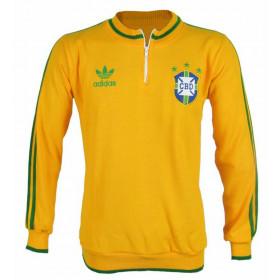 Agasalho retrô da seleção Brasileira - confecção em até 18 dias úteis.